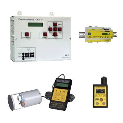 ТОЗ - Газоанализатор кислорода и горючих газов ОКА-92М